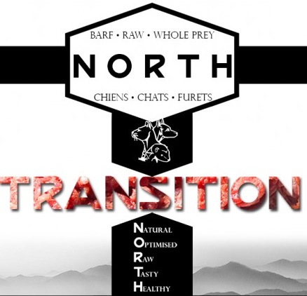 BARF pour chien NORTH Transition
